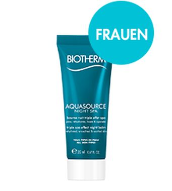 Aquasource Night Bath Luxusprobe (20ml)