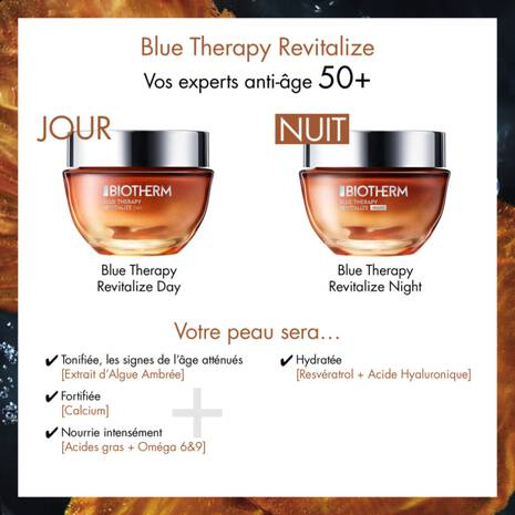 BLUE THERAPY AMBER ALGAE REVITALIZE DAY TAGESCREME